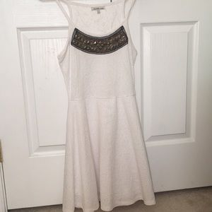 Pretty White Homecoming Dress